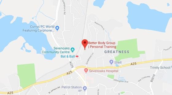 Get directions to BBG Sevenoaks